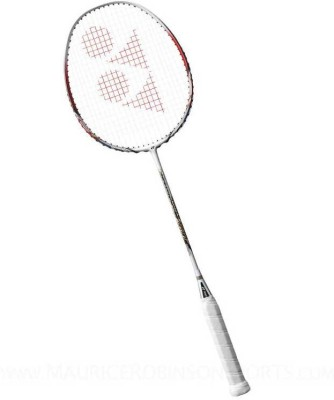 Yonex NANORAY D1 G4 Strung Badminton Racquet (White, Blue, Weight - 85 g)