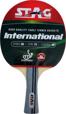 Stag International Table Tennis Racquet (Weight - 72 g)