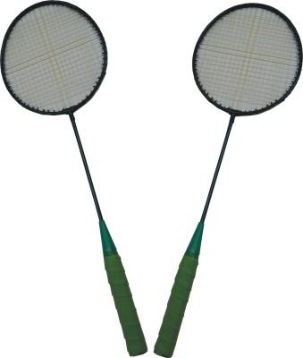 Jayam RANGIIIIILA (2 Racket) G4 Strung Badminton Racquet G4 Strung Badminton Racquet (Multicolor, Weight - 130 g)