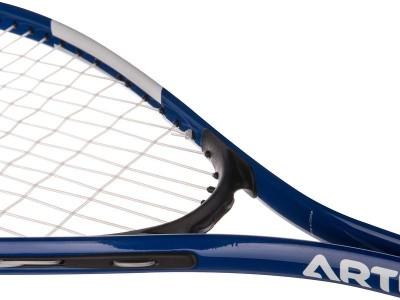 Artengo SR 700 G4 Strung Squash Racquet (Blue, White, Weight - 150 g)