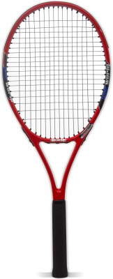 BURN BN5577 Standard Strung Tennis Racquet (Red, Black, Weight - 290 g)