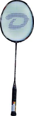 DSC Supreme TI 6000 Black/White/Red G4 Strung Badminton Racquet (Black, White, Red, Weight - 85 g)
