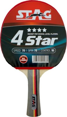 Stag 4 Star Table Tennis Racquet (Weight - 70 g)