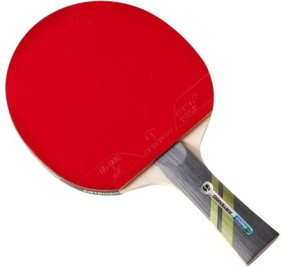 Artengo 820 O Strung Table Tennis Racquet (Red, Black, Weight - 120 g)