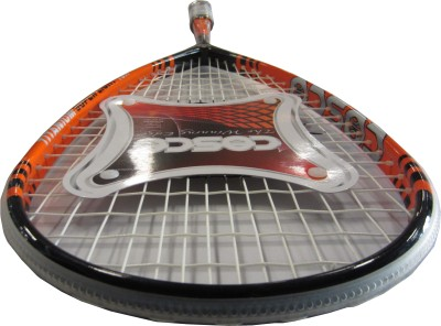 Cosco Titanium 10X Strung Squash Racquet