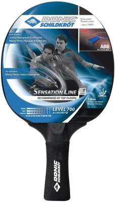 Donic Schildkrot Sensation 700 Table Tennis Racquet (Multicolor, Weight - 180 g)