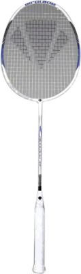 Carlton Airblade 37 Standard Strung Badminton Racquet (White, Blue, Black, Weight - 3U)