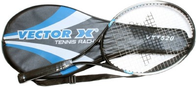 Vector X VXT-520 Strung Tennis Racquet (Aluminium, Assorted)