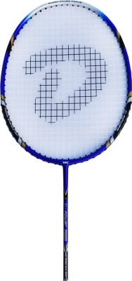 DSC Supreme TI 7000 Blue/Grey/Black G4 Strung Badminton Racquet (Blue, Grey, Black, Weight - 85 g)