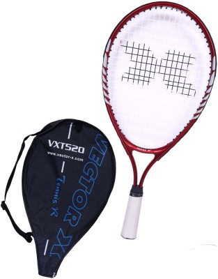 Vector X Vxt 520 21 inches 1# Strung Tennis Racquet (Red, White, Weight - 197 g)