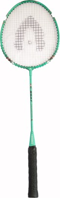 Bipan's Beat With Full Cover G4 Strung Badminton Racquet (Green, Silver, Yellow, Weight - 110 g)