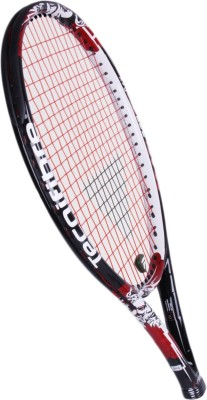 Tecnifibre T Flash 265 G4 Strung Tennis Racquet (Black, Red, Weight - 265 g)