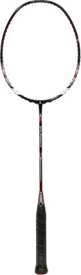 Ashaway Vtc Force 5 G2 unstrung Badminton Racquet (Black, Weight - 86 g)
