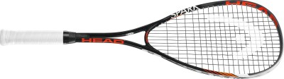 Head Spark Edge 4 Strung Squash Racquet (Multicolor, Weight - 195 g)