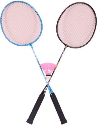 Disney Mickey Mouse Combo G4 Strung Badminton Racquet (Blue, Weight - 600 g)