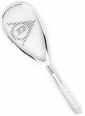 DUNLOP BLAZE 10 G0 Strung Squash Racquet (White, Weight - 180 g)