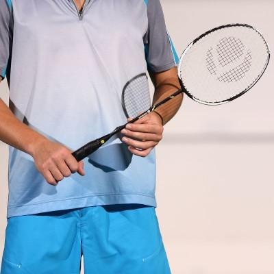 Artengo BR800 ADULT G4 Strung Badminton Racquet (Black, Weight - 90 g)