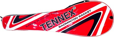Tennex T-505 G4 Strung Badminton Racquet (Red, Weight - 160 g)