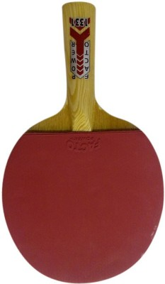 Facto Power 1 Piece Table Tennis Racquet (Red, Black, Weight - 150 g)