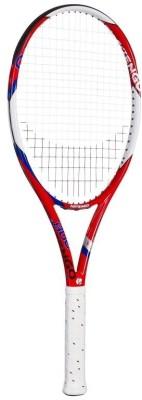 Artengo TR 800 FLAX FIBER G2 Strung Tennis Racquet (Red, White, Weight - 275 g)