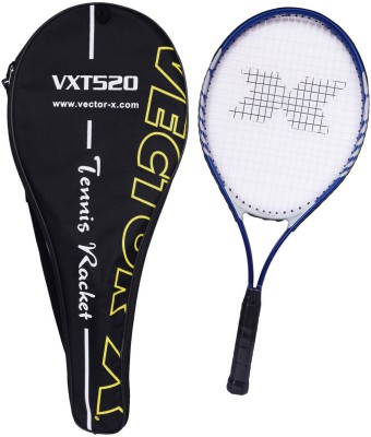 Vector X Vxt 520 26 inches with full cover 3# Strung Tennis Racquet (Blue, White, Weight - 290 g)