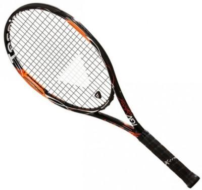 Tecnifibre Tgv Speed G3 STRUNG Tennis Racquet (Black, Orange, Weight - 265 g)
