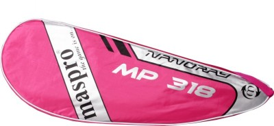 Maspro MP 318 G4 Strung Badminton Racquet (Pink, Weight - 300 g)