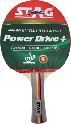 Stag Power Drive Table Tennis Racquet with Case (Weight - 81 g)