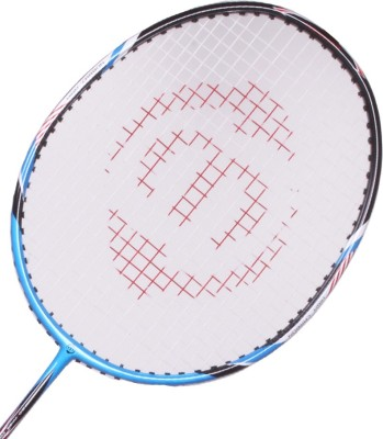 Maspro High Carbon G4 Strung Badminton Racquet (Blue, Weight - 300 g)