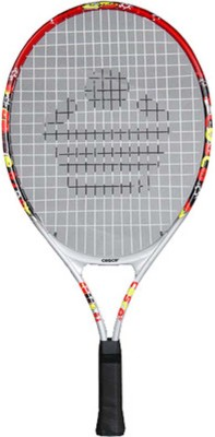 Cosco 21 STRUNG TENNIS RACQUET G4 Strung Tennis Racquet (Multicolor, Weight - 700 g)
