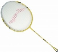 Lining Tour Series 50 Ii S2 Badminton Racquet (Gold, Weight - 85-89G)