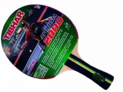 Tibhar APOLONIA 2000 Table Tennis Racquet (Multicolor, Weight - 150 g)