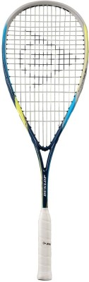 Dunlop Biomimetic Evolution 130 HL Standard Strung Squash Racquet (Blue, Weight - 130g)