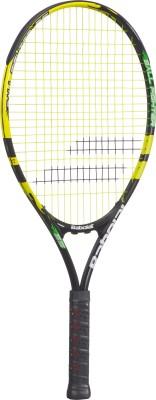 Babolat Ballfighter 25 - Grip 00 G4 Strung Tennis Racquet (Black, Yellow, Weight - 215 g)