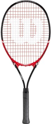 Wilson Fusion XL 4 3/4 Inch Tennis Racquet (Red, Weight - 350 g)