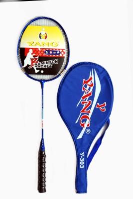 YANG YANG 303 g4 Strung Badminton Racquet (Blue, Weight - 350 g)