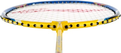 Li-Ning XP 60 II S2 Strung Badminton Racquet (Yellow, Blue, Weight - 85 g)