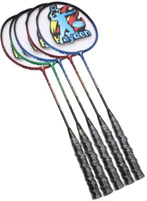 Hayden Hayden-10000 g4 Strung Badminton Racquet (Multicolor, Weight - 590 g)