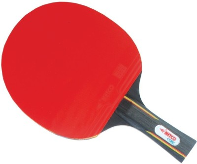 Metco Core Unstrung Table Tennis Racquet (Black, Red, Weight - 250 g)