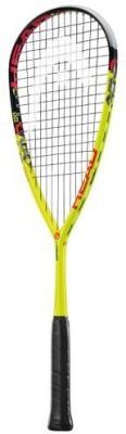 Head Graphene Xt Cyano 120 G4 Strung Squash Racquet (Yellow, Black, Weight - 120 g)