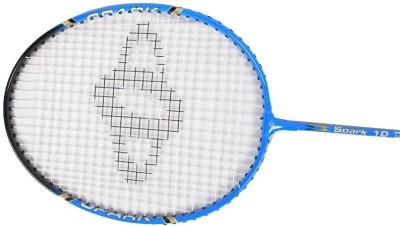 Sposon Spark 10 G4 Strung Badminton Racquet (Blue, Weight - 81 g)