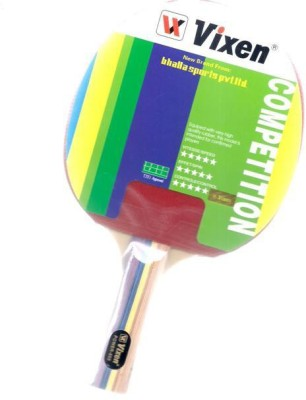 Vixen Power 555 0 Table Tennis Racquet (Multicolor, Weight - 350 g)