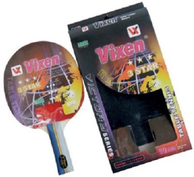 Xs Vixen 3 Star G4 Unstrung Table Tennis Racquet (Multicolor, Weight - 300 g)
