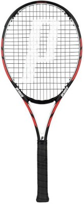 Prince Warrior 100 Standards Unstrung Tennis Racquet (Black, Red, Weight - 300 g)