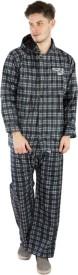 BURDY Checkered Men's Raincoat