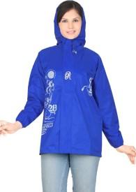 REAL Graphic Print Girl's, Women's Raincoat