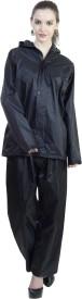Reliable Solid Women's Raincoat