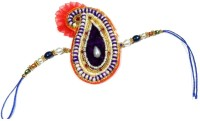 JaipurCrafts Thread Of Astonishment Floral Design Designer Rakhi (Multicolor, 1 Designer Rakhi) - RAKE9NZF2RP4TYTP