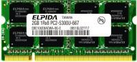 Elpida Original DDR2 2 GB Laptop (E02201505-21)