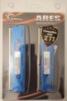 G.SKILL Ares Series DDR3 8 GB (8GB (2 X 4GB)) PC DRAM (F3-1600C9D-8GAB) (Blue)